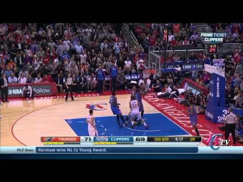 Clippers Highlights vs Thunder (Nov 13 2013)