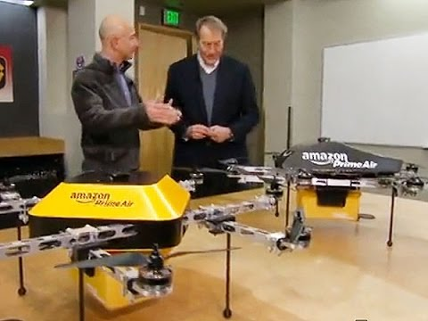 Half Of The Team Behind Amazon's Drone Delivery Are Ex Microsoft Employees