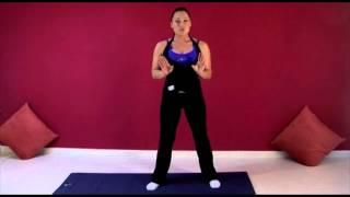 Ejercicio embarazadas: Flexibilidad articular piernas