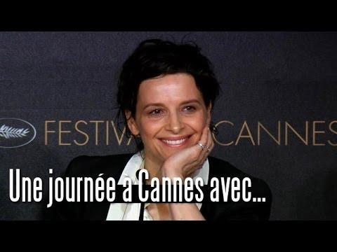 Une Journée à Cannes avec Juliette Binoche [Sils Maria]