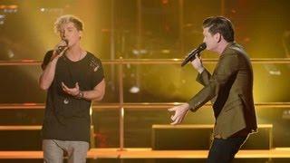 Josh Kyle And Luke Mansini Sing Heart's A Mess: The Voice Australia Season 2 view on youtube.com tube online.