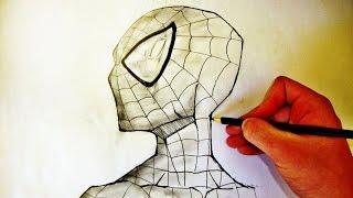 Como Desenhar O Homem Aranha (How To Draw Spider-Man