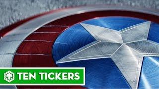 Top 10 sự thật thú vị về chiếc khiên của Captain America | Ten Tickers No. 106