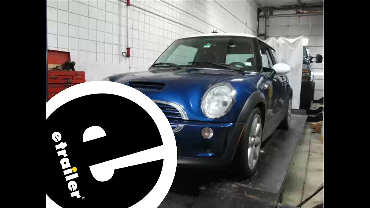 installation of a blue ox light wiring kit for towed vehicles on a 2004 mini cooper