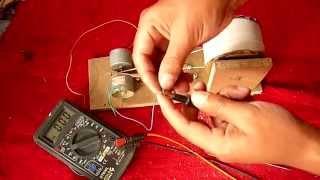 Cómo hacerun Generador de Electricidad (Fácil De Hacer)