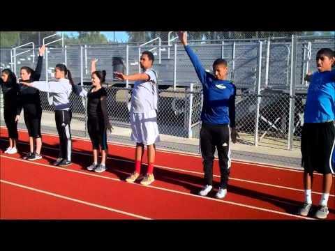 Basic Long Jump Teaching Progression for Beginners