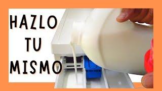 Cómo hacer jabón de lavadora muy barato