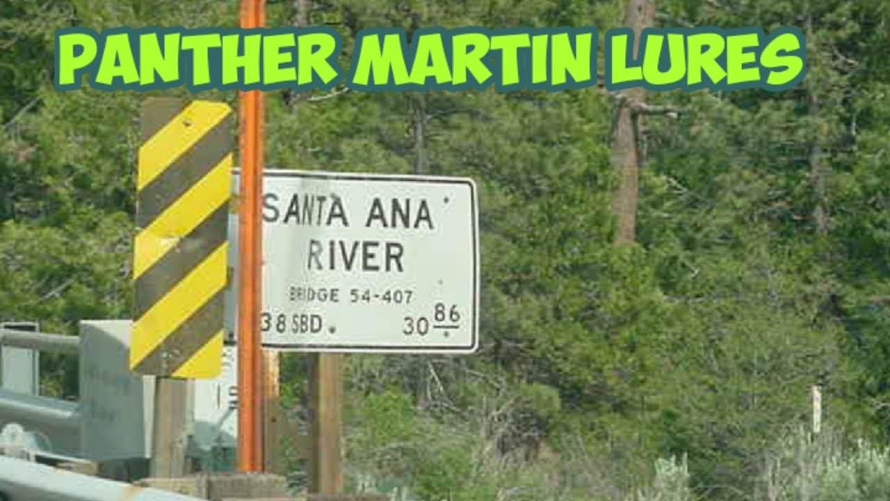 Santa ana river rainbow trout fishing using panther martin for Santa ana river lakes fishing