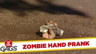 Just for laughs gags - Zombie Hand Prank