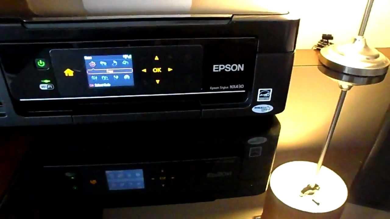 how to change wifi password on epson printer
