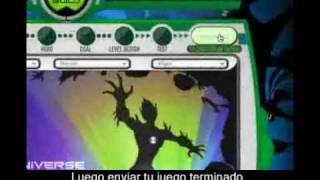 Ben 10 Alien Force: Creador De Juegos On-Line