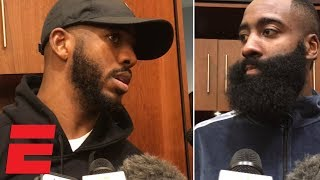 Chris Paul compliments Carmelo Anthony, James Harden talks win vs. Pacers | NBA Sound