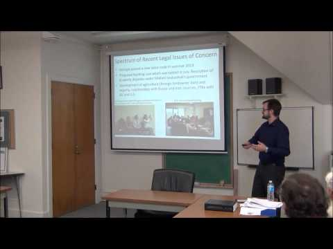 Brownbag: Fall 2013 FMSO GRA Reports (Melin and Artman)