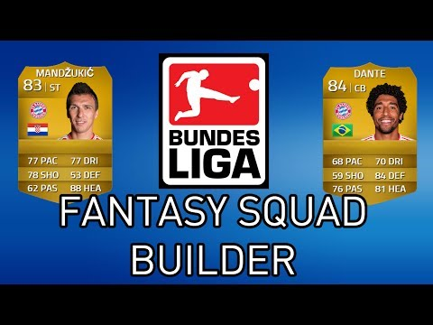 FIFA 14 My Bundesliga Fantasy Football Squad Builder Ultimate Team