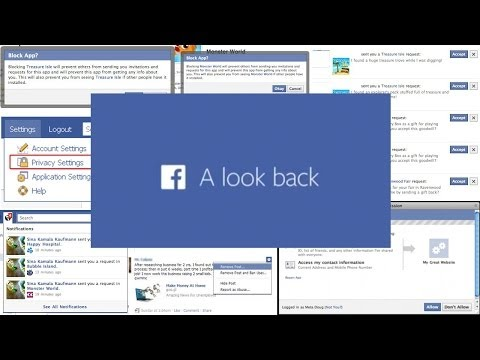 Facebook Look Back Videos