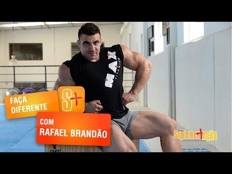 Faça Diferente com Rafael Brandão - Flexão de joelhos com halter