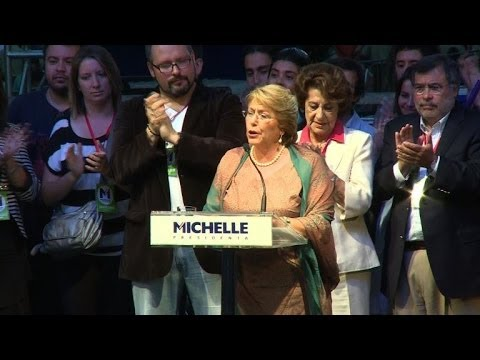 Bachelet wins Chile presidential run-off