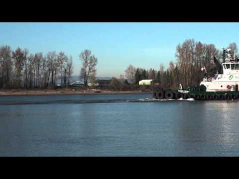 Foss Maritime Tug Pacific Escort @ Kelley Point Park 11-24-13