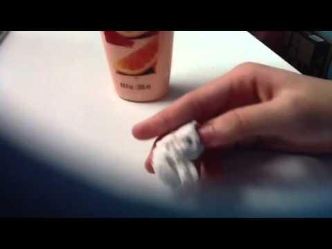 how to make dry superglue soft