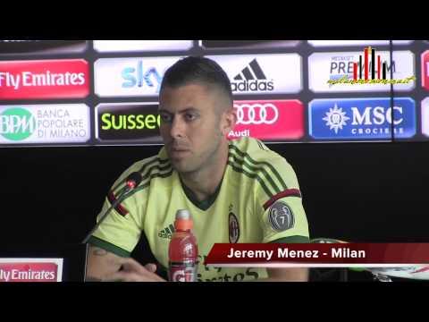 Jeremy Menez si presenta