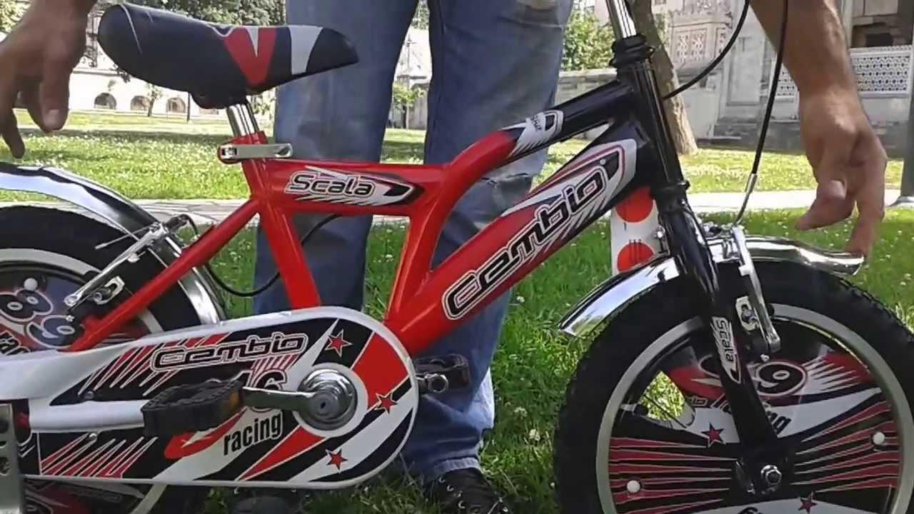 Cembıo Scala 16 Cocuk bisikleti Video Ayhancocuk.Com dan