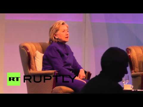 USA: Hilary Clinton talks ISIS, Iran and Iraq at keynote speech