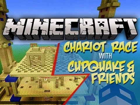 Minecraft: Chariot Chase Mini Game Ep 1