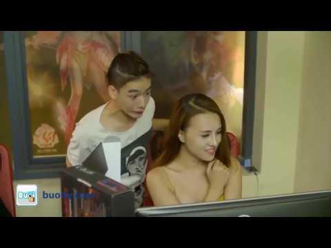 Video hài 18+ Hữu Công và Linh Miu  - Gái xinh xem phim cấp 3