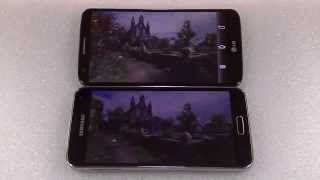LG G2 Vs Galaxy S5 Comparativa ESPAÑOL