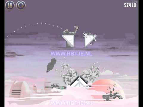 Angry Birds Star Wars Cloud City 4-5 3 stars