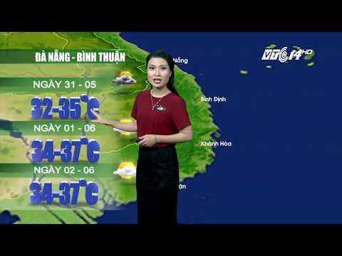 (VTC14)_ Thời tiết 12h ngày 30.05.2017