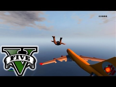 GTA 5 Live Stream - Goofing Around - Stealing Military Jet