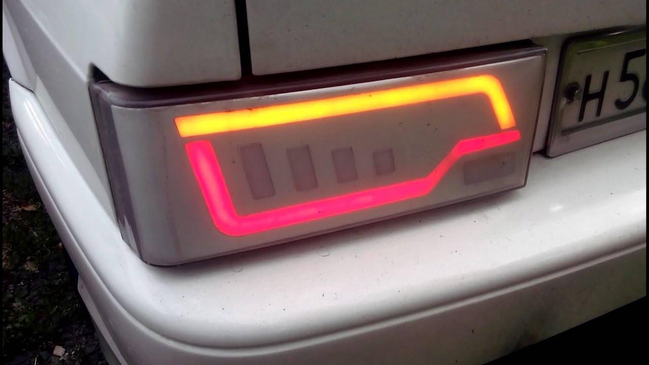 Как сделать самому задние фонари на 2109