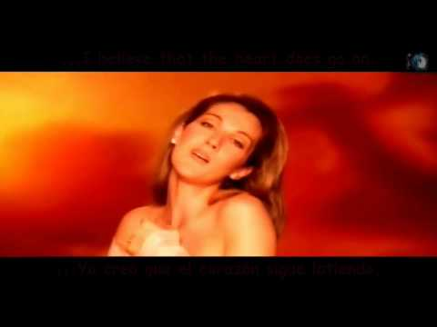 Celine Dion - My Heart Will Go On (Titanic) (Sub Español - Lyrics)