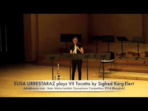 ELISA URRESTARAZU plays VII Tocatta by Sigfred Karg Elert