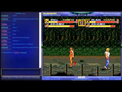 Streets of Rage 2 - Netplay Session - Mania Difficulty / Complete (GEN) - User video