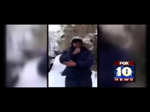 Trucker video from Atlanta snow storm