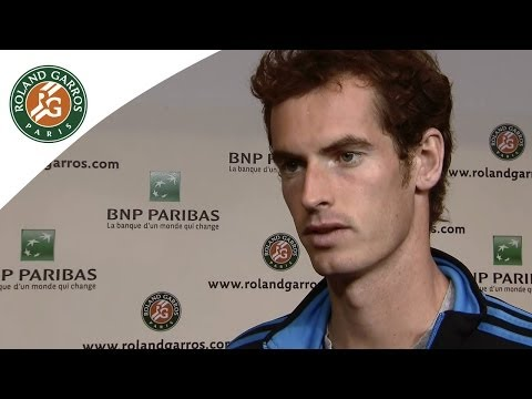Murray is ready to confront Monfils - Roland Garros 2014 1/4