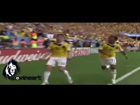 World Cup 2014 Match 21 Colombia vs Ivory Coast (2-1) Group C 19 06 14