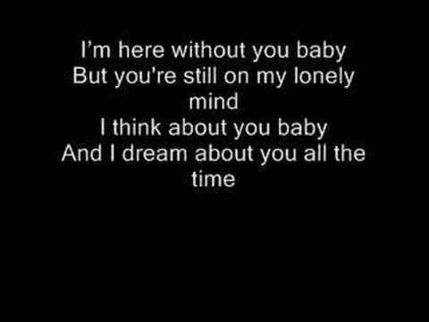 Without you here lyrics