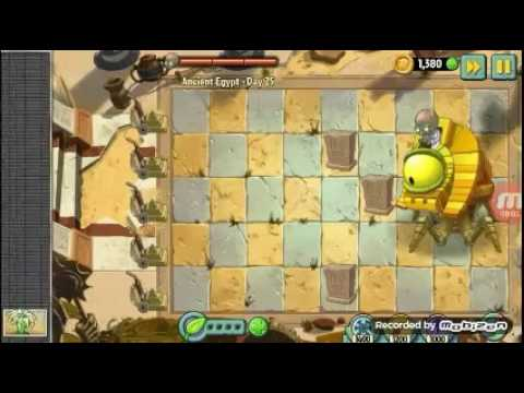 Plants vs zombies 2 ancient Egypt day 25