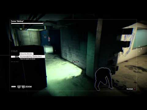 Watch Dogs - Painting A Bug: Guide Bedbug To Iraq's Server Room, Hack Door Sequence PS4
