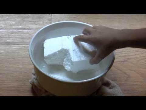 Aceton i styropian - doświadczenie