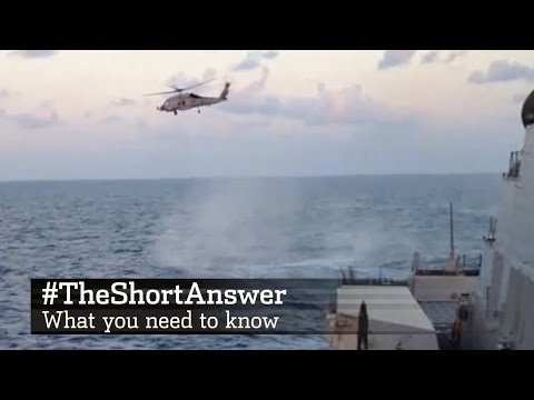 The search zone for Malaysia Airlines MH370 is expanding. How do planes and helicopters go about finding the missing flight. WSJ\'s Jason Bellini has #TheShortAnswer.