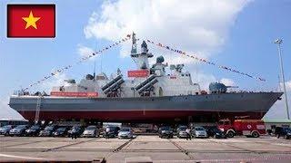 Tàu tàng hình đầu tiên của Việt Nam trên Biển Đông