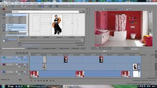 Tutorial Sony Vegas (mover Imagenes, Usar Mascada, Cortar