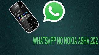 Como Ter WhatsApp No Nokia Asha 202