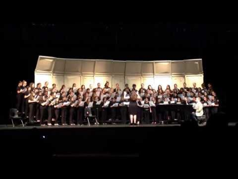 Avalon Middle School 6th grade chorus sight reading #1