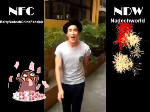 【NFC字幕组】Best wishes for the Chinese new year from Nadech