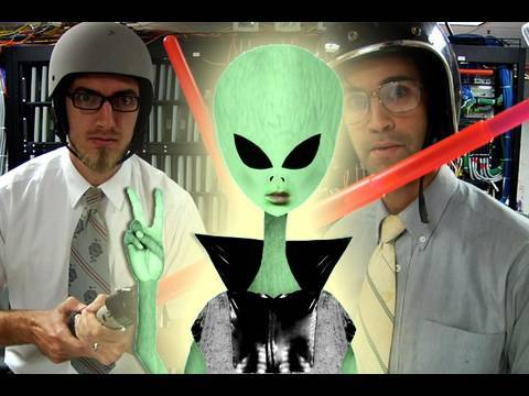 Alien Makes Contact!! (The S.E.T.I. Song featuring Billy Reid)